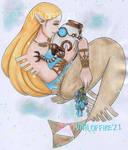 Zelda Bluebell Merm