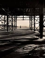 the beach by haikman
