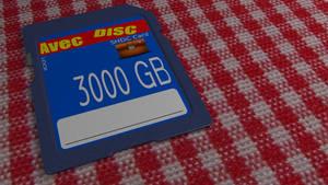 Carte SD 3D