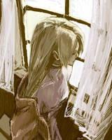 Oldwork:: Princess Ovelia FFT by sweetmoon