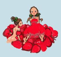 Strawberries by sweetmoon