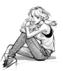 A runnaway girl by sweetmoon