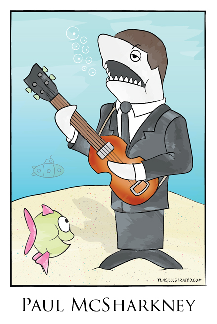 Paul McSharkney by punsillustrated