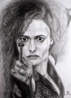 Bellatrix Lestrange by tanjadrawing