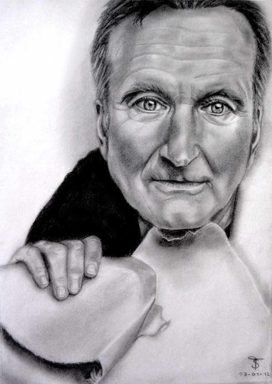 Robin Williams by tanjadrawing