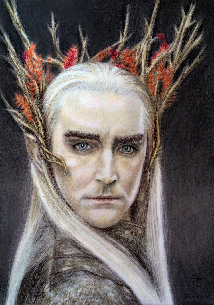 Thranduil by tanjadrawing