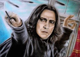 Severus Snape - The Bravest Man I Ever Knew by tanjadrawing