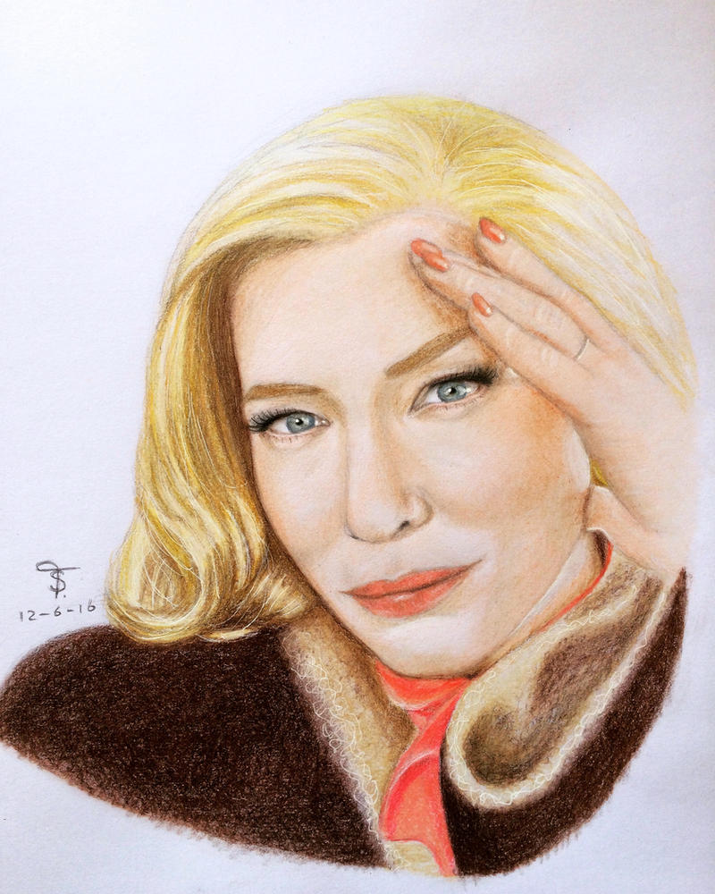 Carol Aird - Cate Blanchett by tanjadrawing