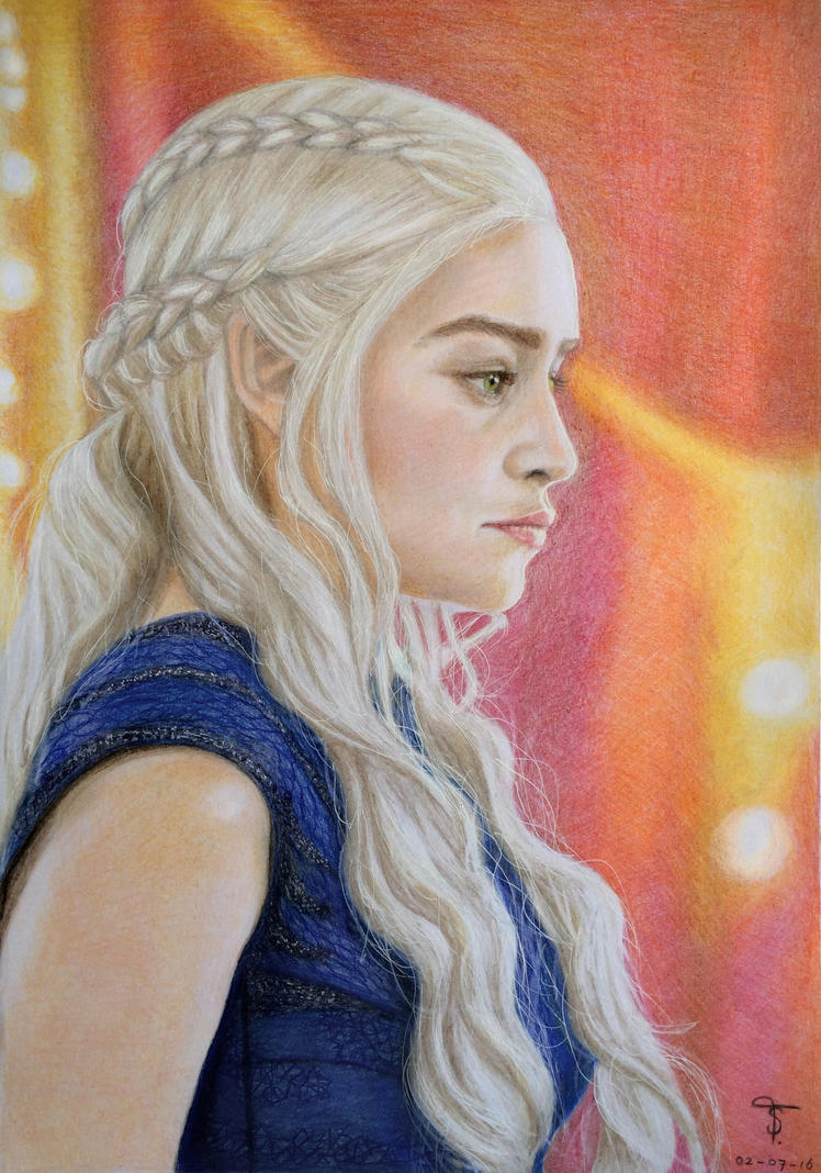 Daenerys Targaryen by tanjadrawing