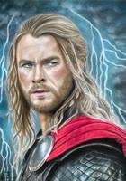Thor - God of Thunder by tanjadrawing