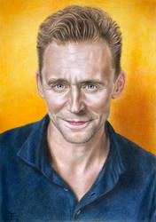 Tom Hiddleston by tanjadrawing