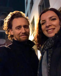 Selfie with Tom Hiddleston