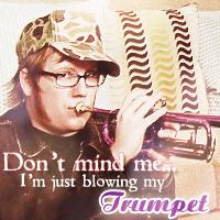Purple Trumpet by PerfectPanda