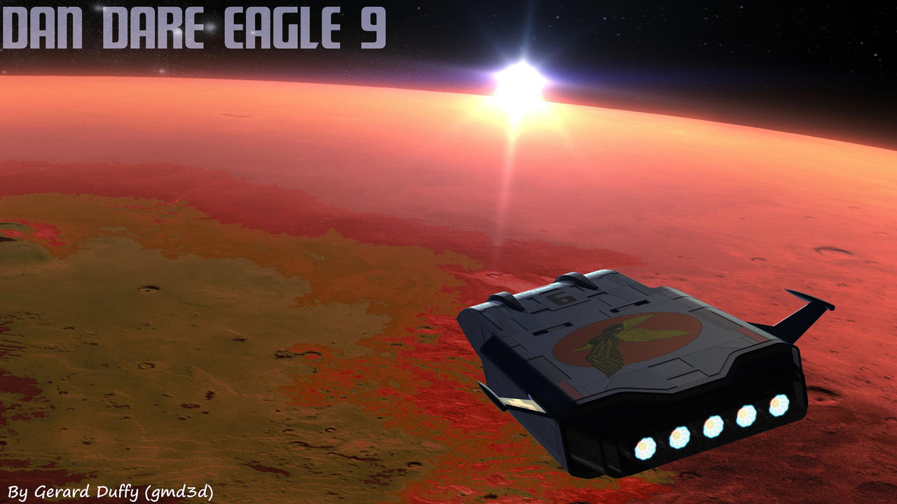 Eagle Approch by gmd3d