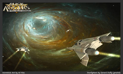 Buck Rogers Starfighters by gmd3d