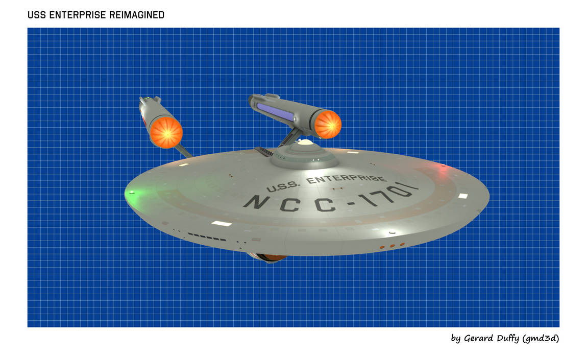 USS ENTERPRISE Reimagined (1)