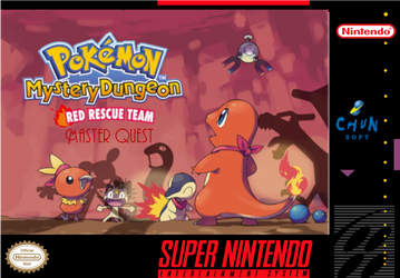 PMD red rescue team: master quest SNES