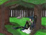 En el bosque nunca hay silencio by Roronoa-Minamino