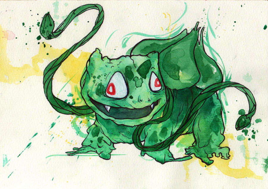Bulbasaur by GLoeNn