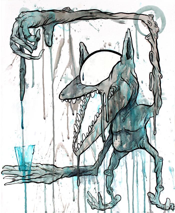 ART CREATES WATER-VivaConAgua charity(ebayAuction) by GLoeNn