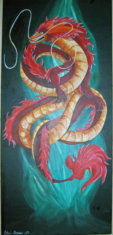 Dragon by Sondim