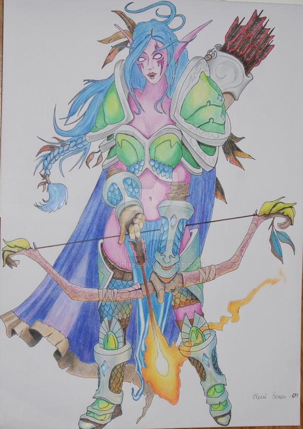 huntress by Sondim