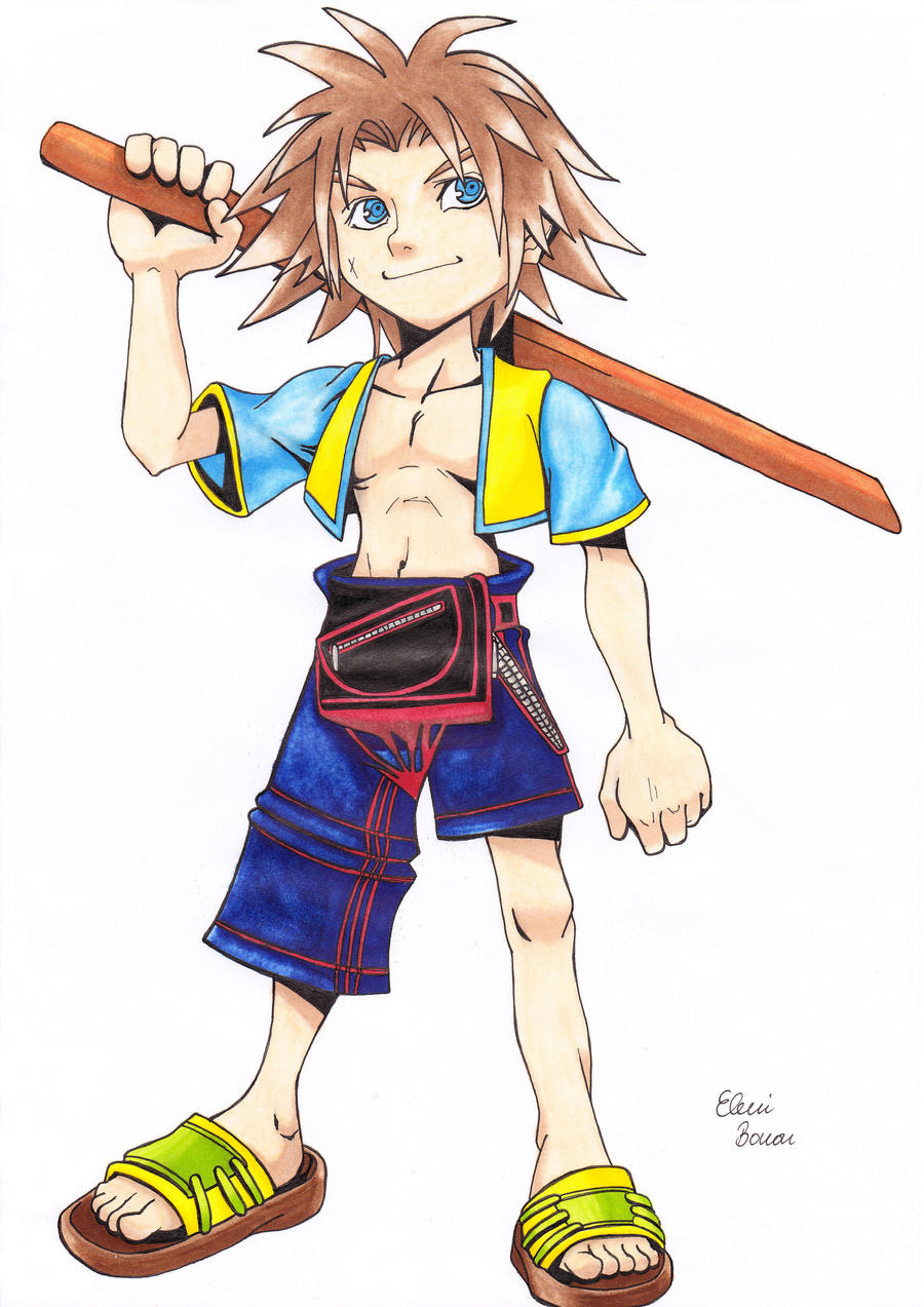 Young Tidus by Sondim