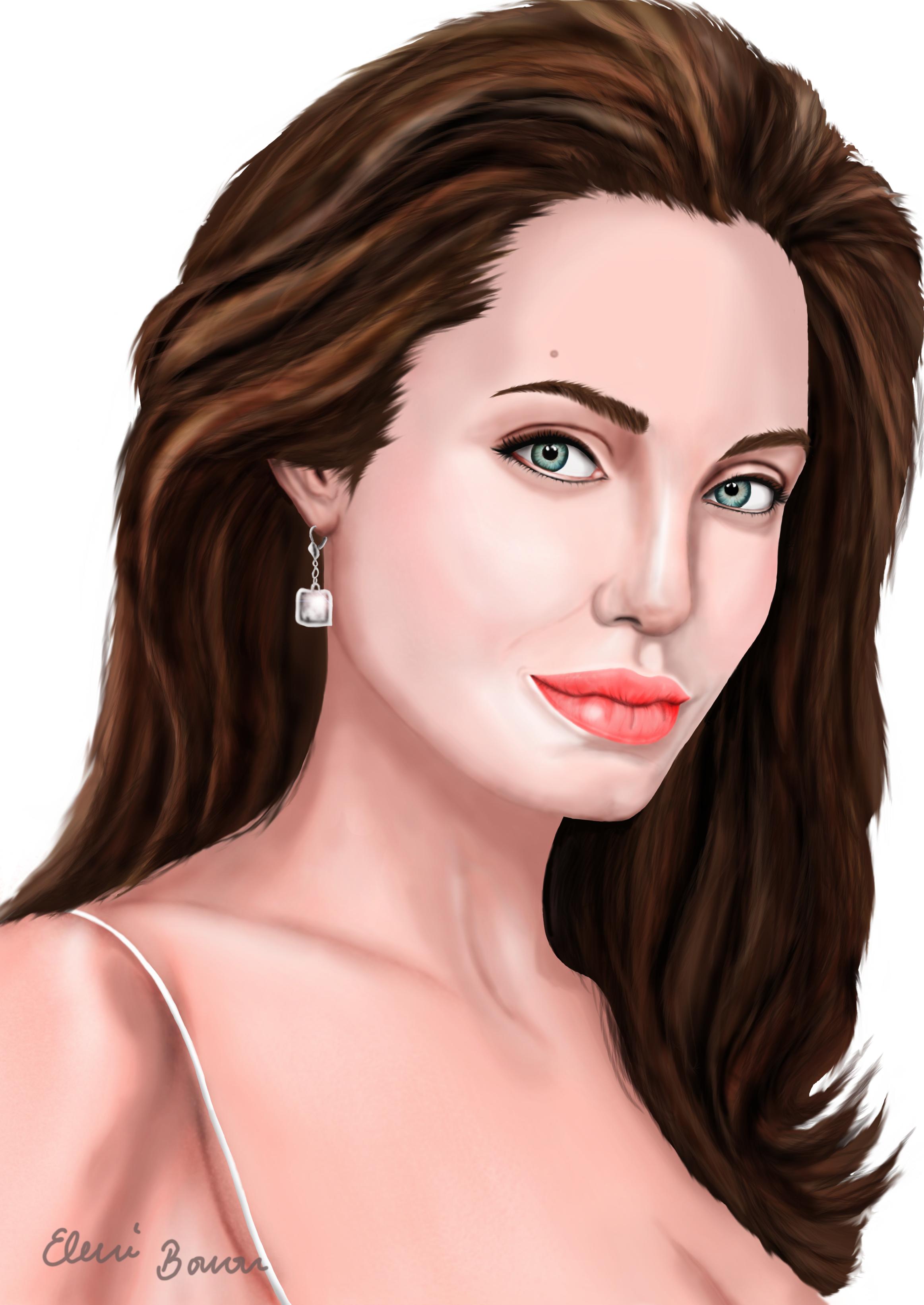 Angelina Jolie by Sondim
