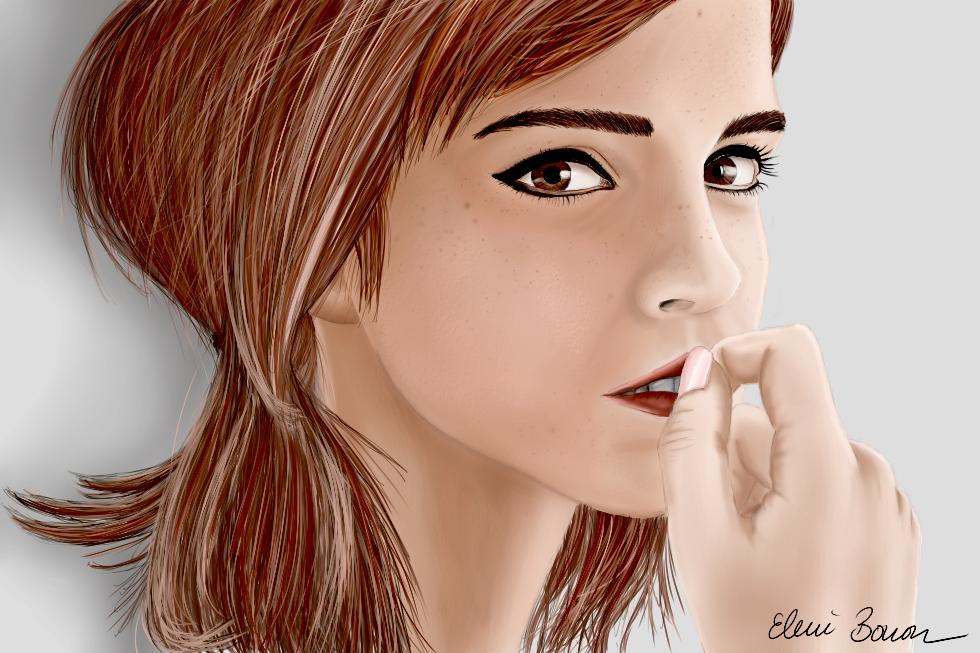 Emma Watson by Sondim