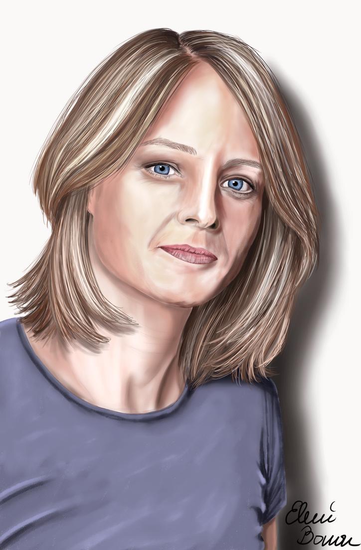 Jodie Foster by Sondim