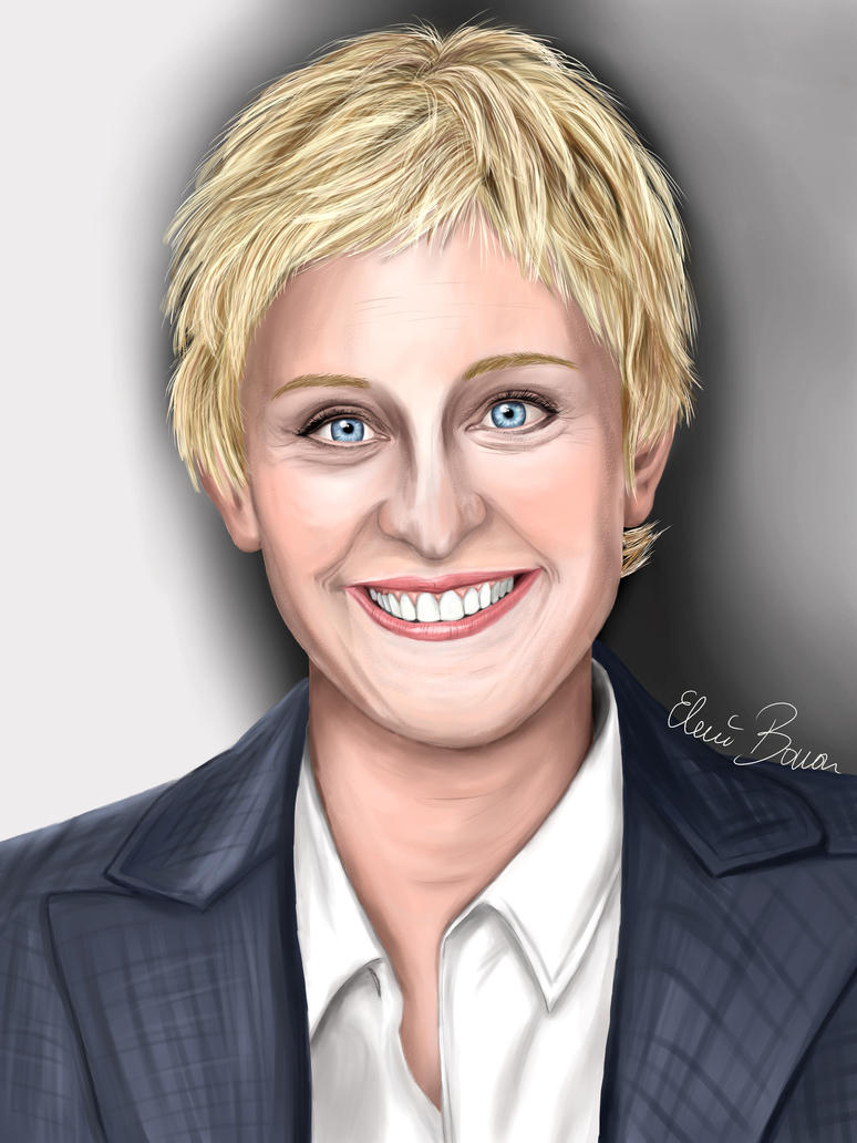 Ellen DeGeneres by Sondim