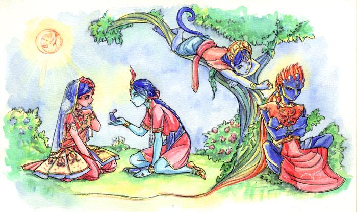 Rama romance by okayutaka