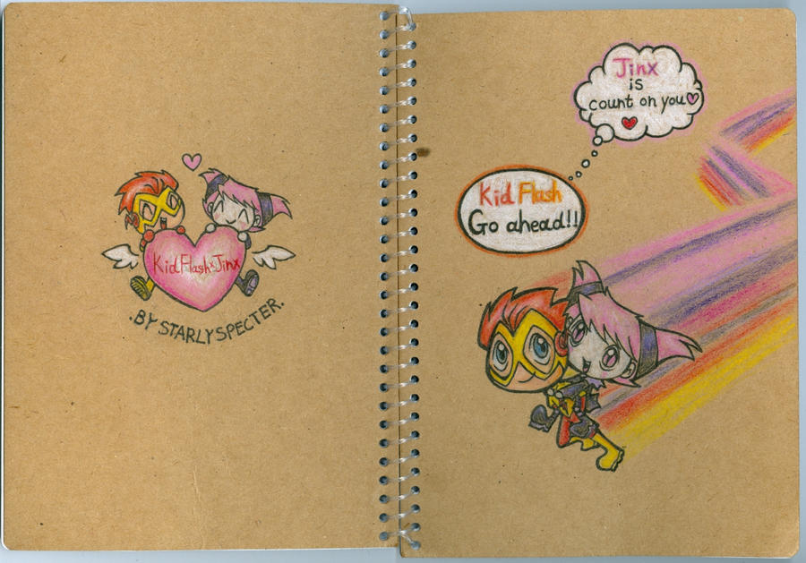 Notebook_KFxJinx by StarlySpecter