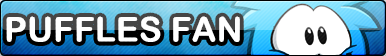 Puffles Fan Button [Club Penguin]