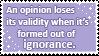 ignorance is bliss by cutielinkle