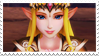 HW Zelda stamp 3 [Hyrule Warriors Legends] by pastellene
