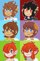 pit icons by pastellene