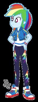 EQG Series - Rainbow Dash 2.0