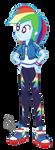 EQG Series - Rainbow Dash 2.0 by ilaria122