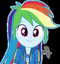 EQG Series - Cute Rainbow Dash by ilaria122