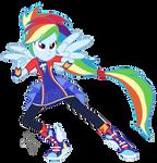 EQG Series - Rainbow Dash Friendship Power by ilaria122