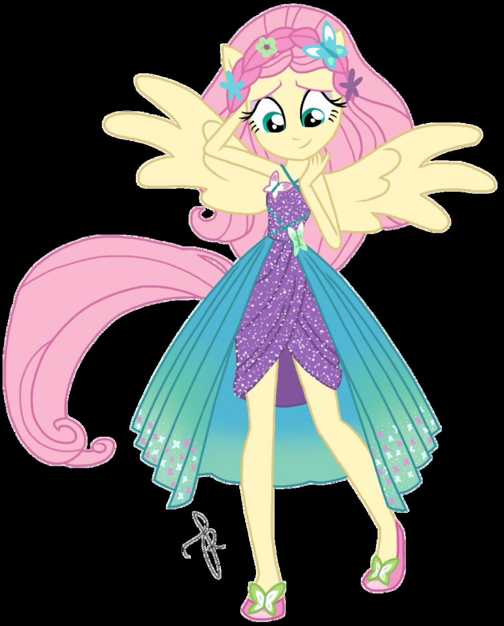 EQG Series - Fluttershy Friendship Power by ilaria122
