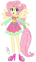 A mysterious rival-Fluttershy Guardian of Kindness by ilaria122