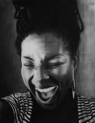 Luaghter by kwei-kofi