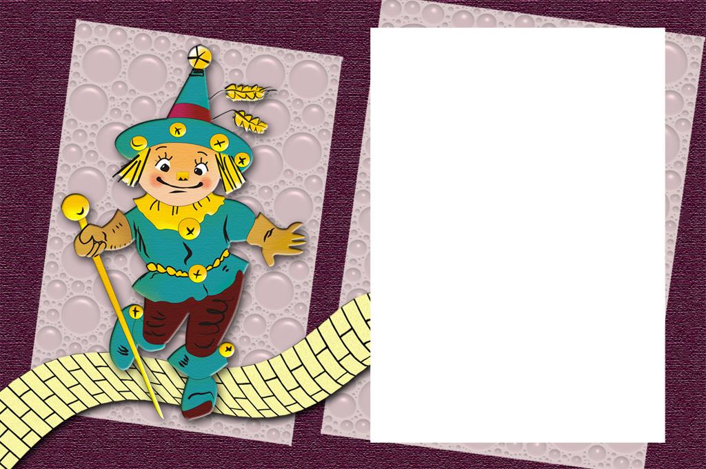Scarecrow Photo Frame by Rem-Gottingen
