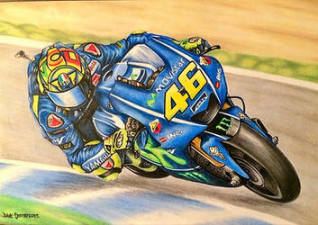 Valentino Rossi Piece by Demonfx1