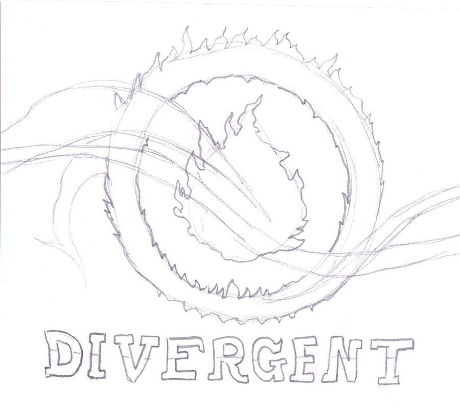 Divergent Book Cover by warriorsfan237 on DeviantArt