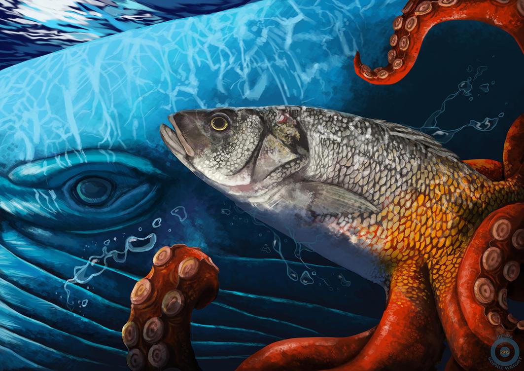 Deep sea aberration by Henva
