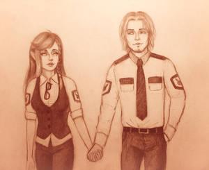Kevin and Tina