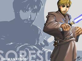 SORESU - Obi-Wan Kenobi by anliya